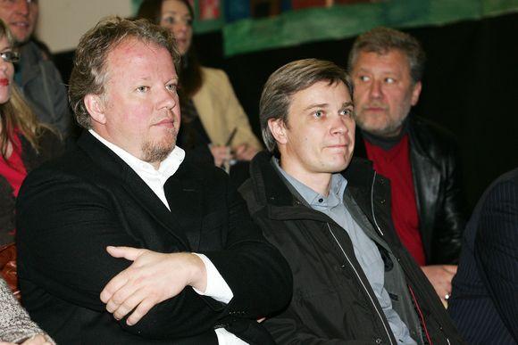 Vytaras Radzevičius ir Rimvydas Paleckis