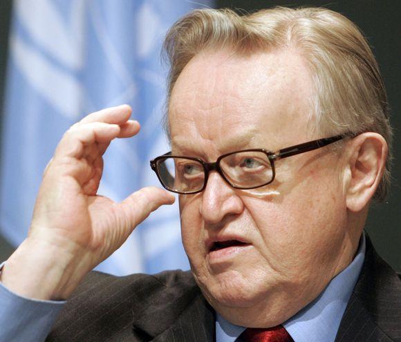 Martti Ahtisaari Nobelio taikos premijos lauriatas