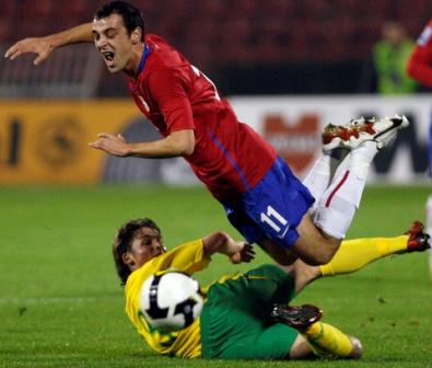 Serbija – Lietuva. Rungtynių akimirkos.