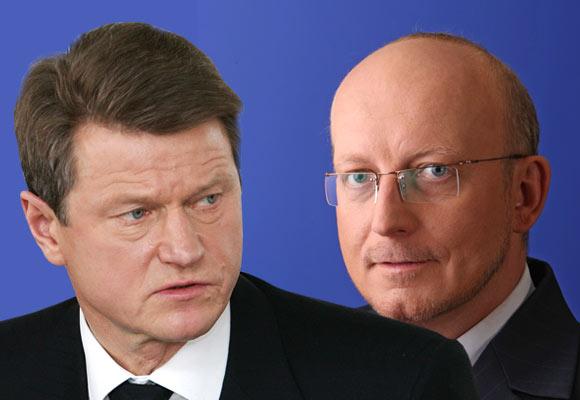 Rolandas Paksas ir Arūnas Valinskas