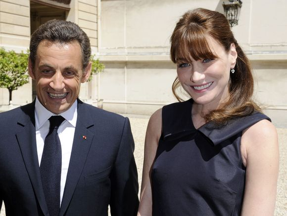 Nicolas ir Carla Sarkozy