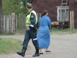 Policija Vilniaus čigonų tabore