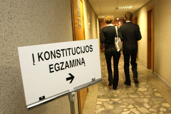 Lietuvos Konstitucijos egzamino finalas