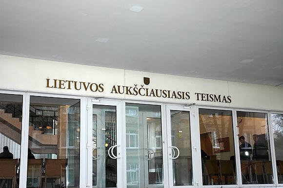 Lietuvos Aukščiausiasis Teismas