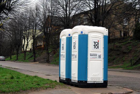 Vilniuje turėtų atsirasti automatiniai viešieji tualetai.