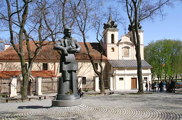 Architekto Lauryno Stuokos-Gucevičiaus paminklas