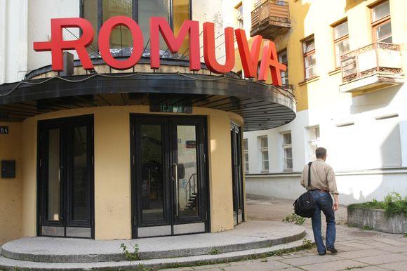 """""""Romuvos"""" kino teatro pastato istorija atsidūrė antikorupcijos komisijos rankose."""
