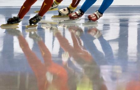 Greitasis čiuožimas trumpuoju taku dar vadinamas šort treku