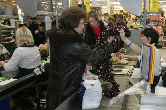 Prekybininkai nesitiki apgulties per šių metų Kalėdas.