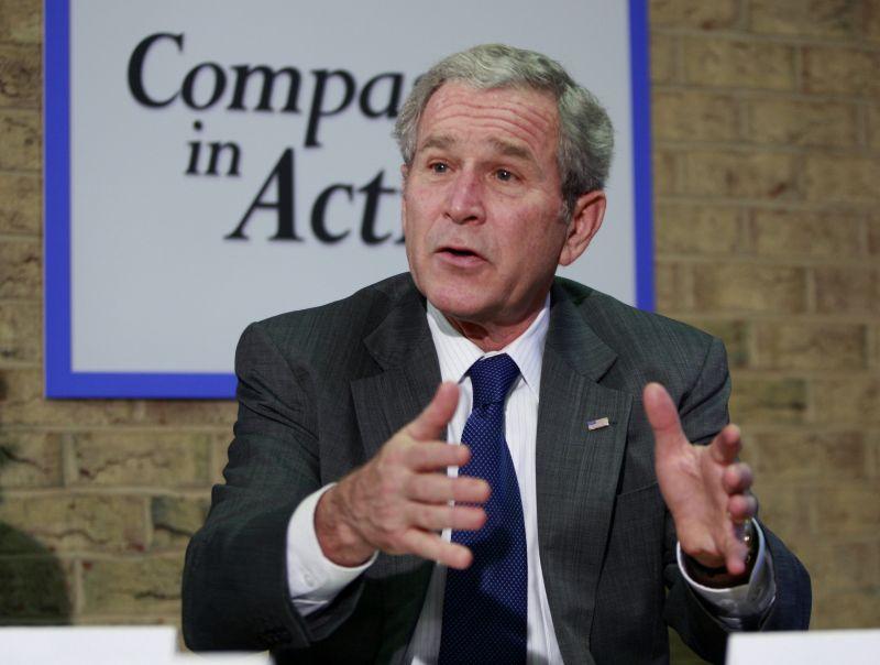JAV prezidentas G.Bushas