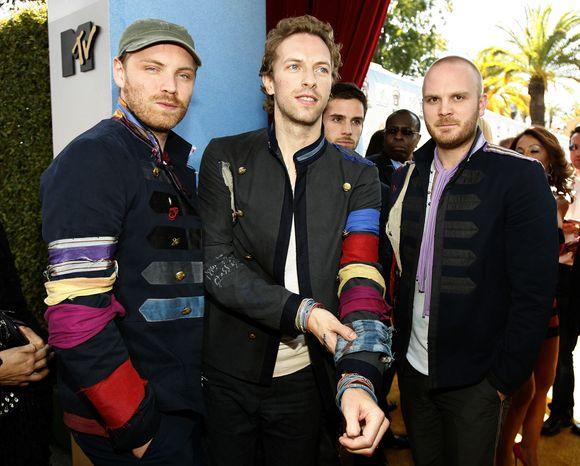 """Legendinė roko grupė """"Coldplay"""""""