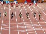 Alfredo Pliadžio nuotr./Lina Grinčikaitė bėga Pekino olimpiados pusfinalyje