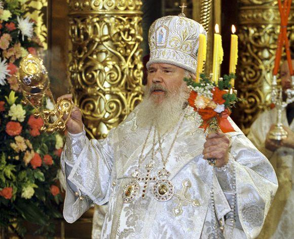 Rusijos ortodoksų bažnyčios vadovas Alexiy II