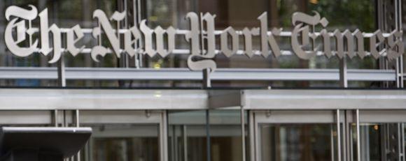 """""""The New York Times"""" būstinė"""