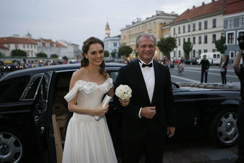 Scanpix nuotr./L.Pinkevičius ir A.Valentaitė