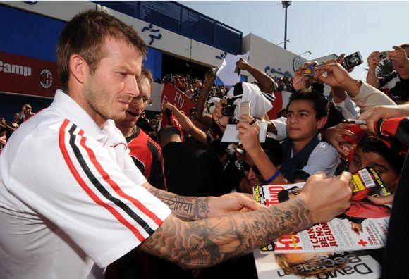 D.Beckhamas iš savo populiarumo tikisi uždirbti
