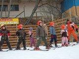 Ž. Pekarsko nuotr./Vaikų slidinėjimo mokykla