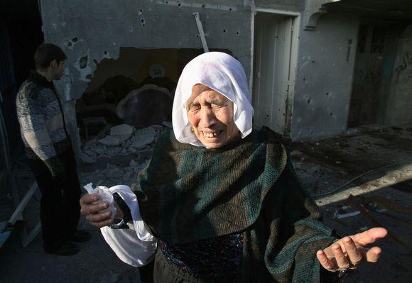 Vietinių palestiniečių emocijos