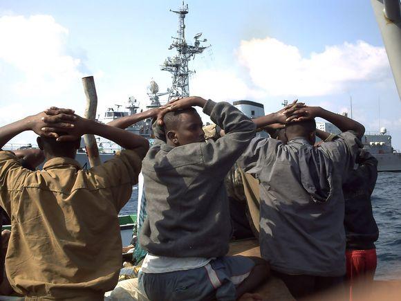 Sučiupti piratai