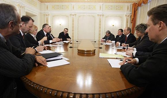 Rusijos ir ES atstovai pasirašė susitarimą dėl dujų tranzito per Ukrainą priežiūros.