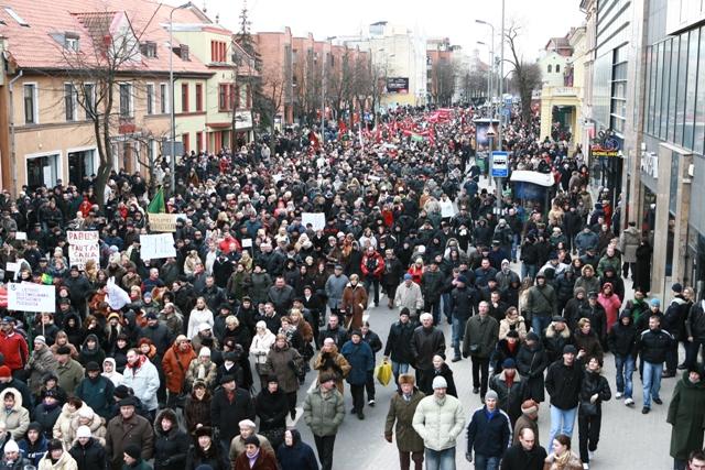 Protestas Klaipėdoje