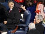 "AFP/""Scanpix"" nuotr./Barackas Obama juokiasi."
