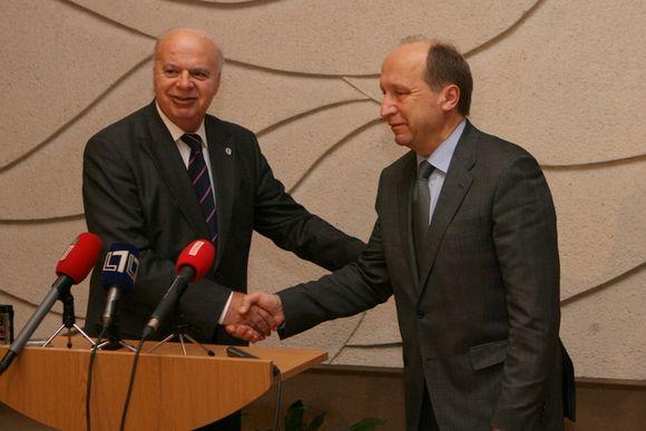 G.Vassilakopoulas ir A.Kubilius problemų nerado