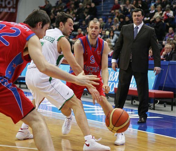 R.Šiškauskas buvo vienas rezultatyviausių krepšininkų CSKA ekipoje