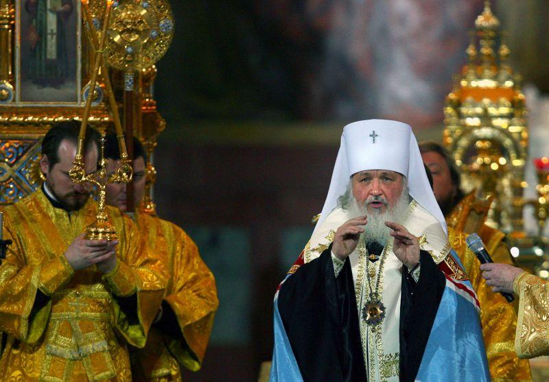 Naujasis Rusijos stačiatikių bažnyčios patriarchas Kirilas.