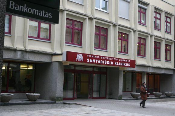 Visų Santariškėse įsikūrusių medicinos įstaigų darbuotojai bei pacientai yra priversti naudotis 2 bankomatais.