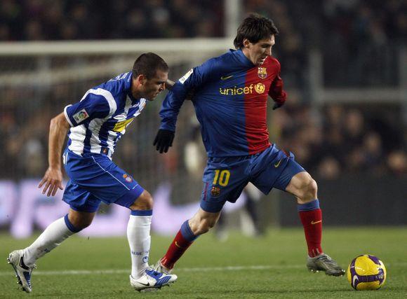 """""""Barcelona"""" po atkaklios kovos prasibrovė į Ispanijos taurės pusfinalį"""