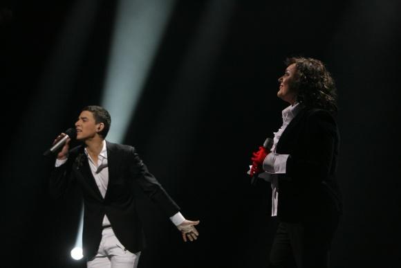 Kalbama, kad D.Montvydo ir R.Čivilytės duetas yar vienas realiausių pretendentų į nugalėtojus.