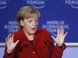 """Reuters""/""Scanpix"" nuotr./Vokietijos kanclerė Merkel Davose"