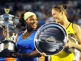 "AFP/""Scanpix"" nuotr./Serena Williams ir Dinara Safina"