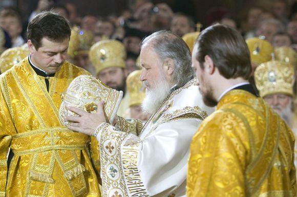 Rusų Ortodoksų Bažnyčios vadovas Kirilas