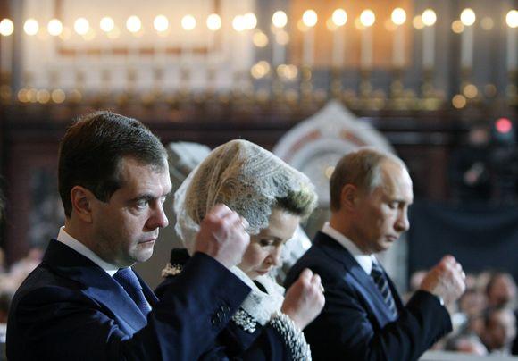 Ceremonijoje dalyvavo ir S.Medvedeva.