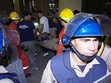"AFP/""Scanpix"" nuotr./Pavarvajuje įgriuvo stadiono tribūna"