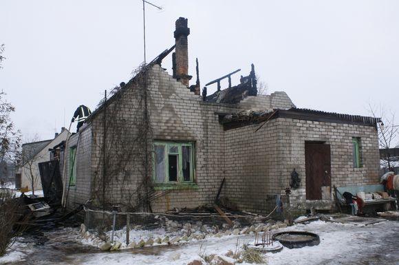 Sudegęs namas