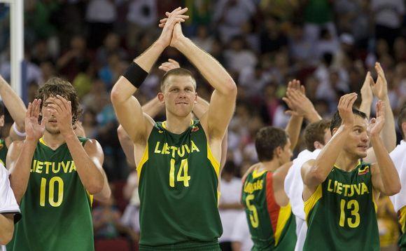 Lietuvos rinktinės kovos gali gali būti prieinamos ne visiems televizijos žiūrovams.