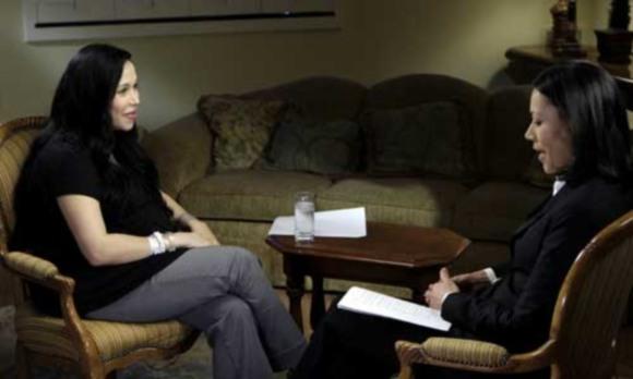 Aštuonetuką pagimdžiusi moteris davė atvirą interviu NBC televizijai.