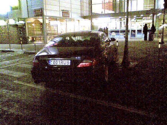 Naujojo ruso Mercedesas?