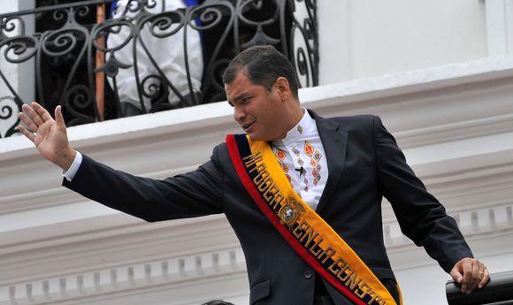 Ekvadoro prezidentas Rafaelis Correa
