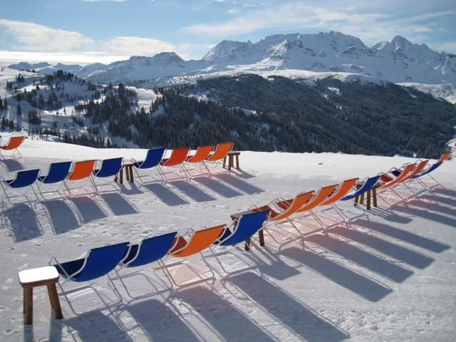 Šauni vietelė pasišildyti bei pailsėti (Alta Badia)