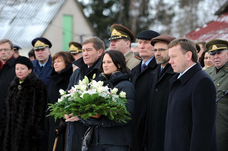 Sekmadienį Radviliškio rajone vyko LLKS įkūrimo 60-ųjų metinių minėjimo renginiai vyko.