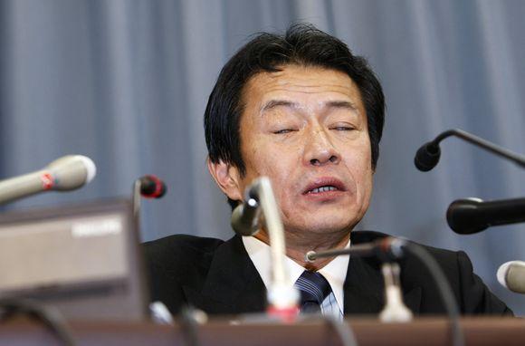 Japonijos finansų ministras Nakagawa