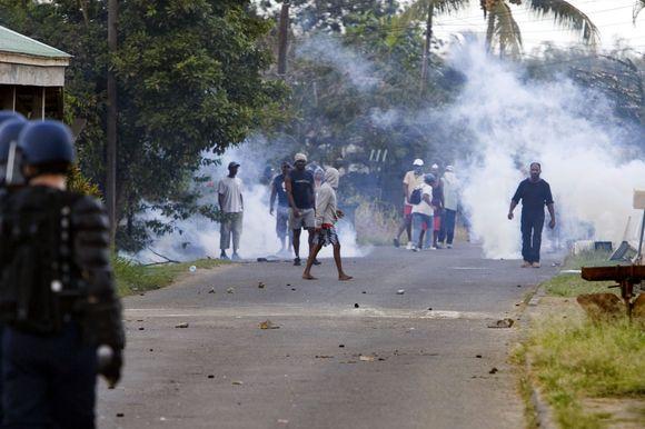 Protestai Gvadelupėje