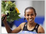 "AFP/""Scanpix"" nuotr./Etiopijos bėgikė Meseret Defar"