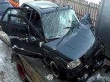 Baltijos TV nuotr./Avariją sukėlęs automobilis