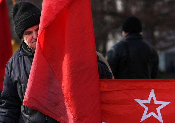 Komunistų partijos vėliava