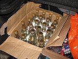 VSAT nuotr./Falsifikuotas rusiškas alkoholis